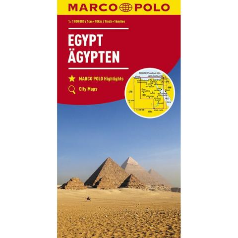 MARCO POLO Länderkarte Ägypten 1:1 100 000