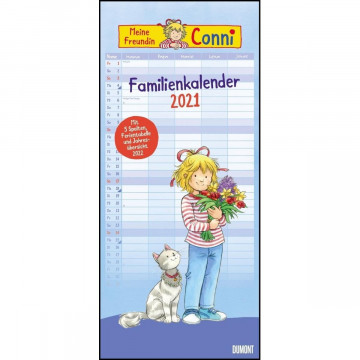 Conni Familienkalender 2021 - Wandkalender