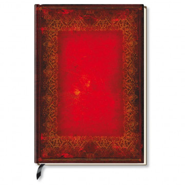 Premium Book Red Book XL. Notizbuch liniert