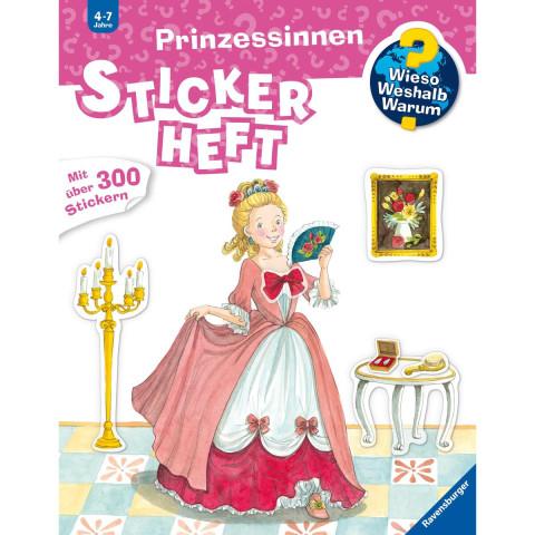Prinzessinnen Stickerheft