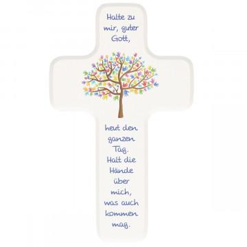 Kinderholzkreuz - Lebensbaum (1 Stück)