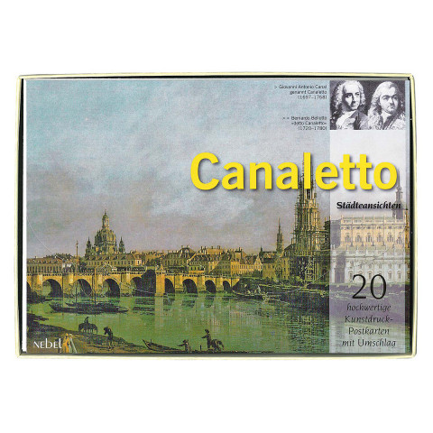 Postkartenset »Canaletto«