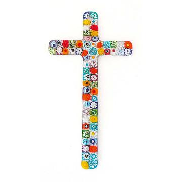 Murano-Glaskreuz