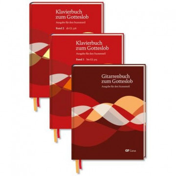 Klavierbuch und Gitarrenbuch zum Gotteslob - Set
