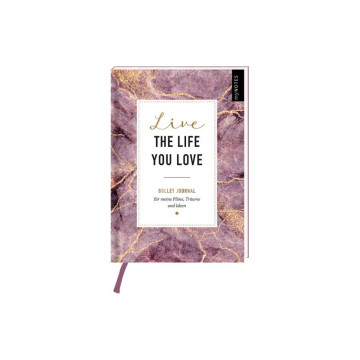 myNOTES Bullet Journal Live the life you love
