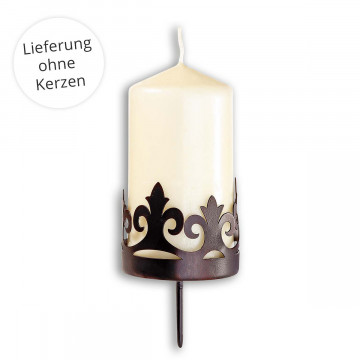 4er-Set Adventskranzstecker »Antique«