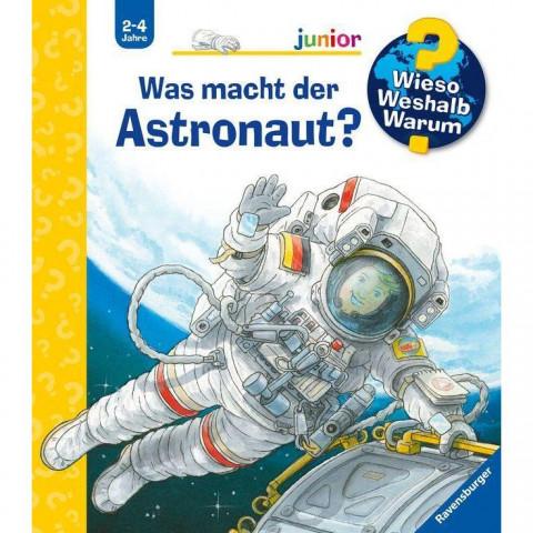 Was macht der Astronaut?
