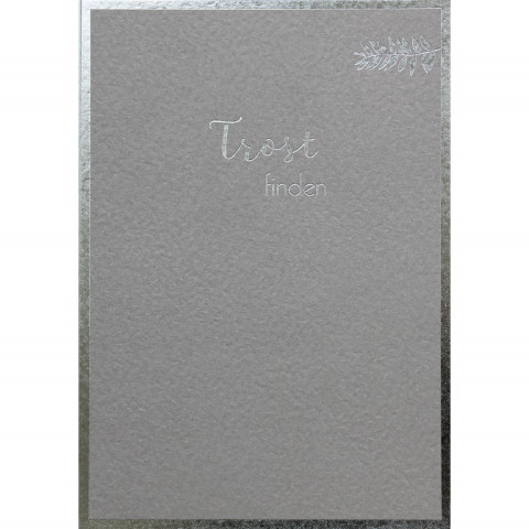 Trauerkarte - Trost finden (6 Stück)