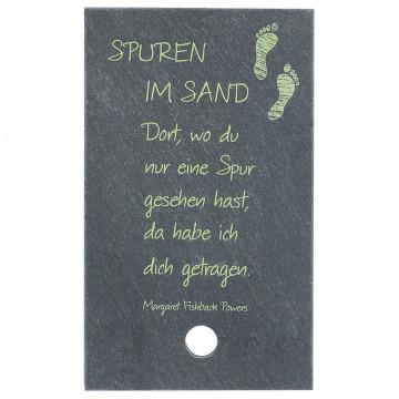 SchieferMoment Spuren im Sand (1 Stück)