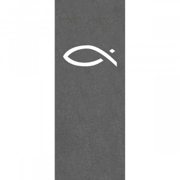 Schieferrelief Fisch (1 Stück)