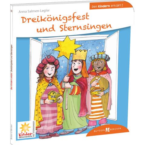Dreikönigsfest und Sternsingen den Kindern erklärt (1 Stück)