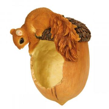 Vogelfutterschale »Eichel mit Eichhörnchen«