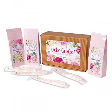 Tee-Geschenkset »Rosengarten«