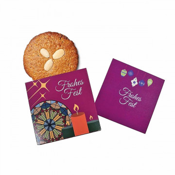 Grußkarte »Frohes Fest«