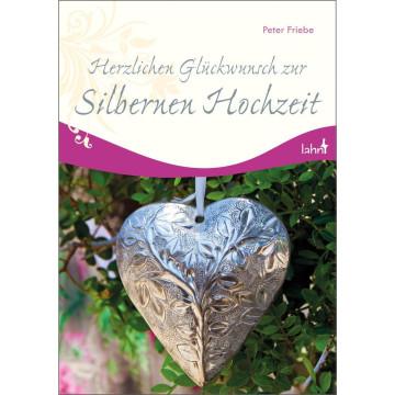 Herzlichen Glückwunsch zur Silbernen Hochzeit (1 Stück)