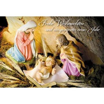 Glückwunschkarte Frohe Weihnachten und ein gesegnetes neues Jahr (6 Stück)