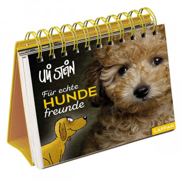 Aufstellbuch »Für echte Hundefreunde«
