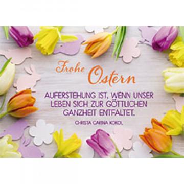 Postkarte Frohe Ostern (10 Stück)