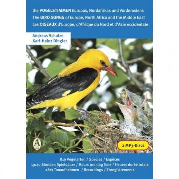 Die Vogelstimmen Europas, Nordafrikas und Vorderasiens / The Bird Songs of Europe, North Africa and