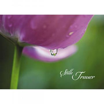 Trauerkarte Stille Trauer (6 Stück)
