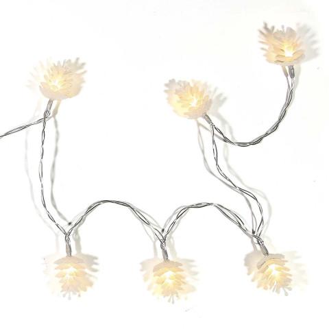 Lichterkette »Tannenzapfen«