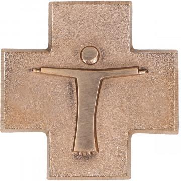 Bronzekreuz mit Korpus - Aus Liebe zu dir (1 Stück)