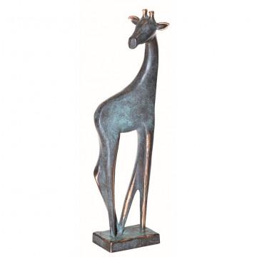 Bronzefigur Giraffe (1 Stück)