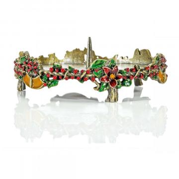 Barock-Kerzenhalter »Weihnachten«