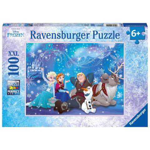 Disney Frozen: Eiszauber. Puzzle 100 Teile XXL