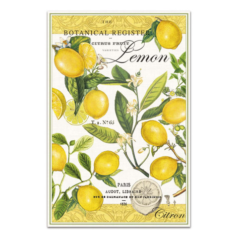 Küchentuch Zitrone