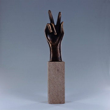 Handzeichen: Geschafft