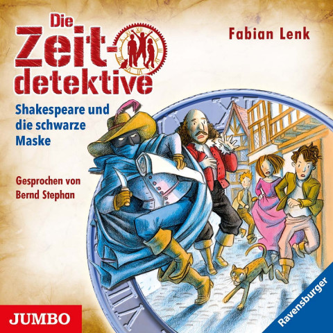 Die Zeitdetektive 35: Shakespeare und die schwarze Maske