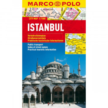 MARCO POLO Cityplan Istanbul 1 : 7 500