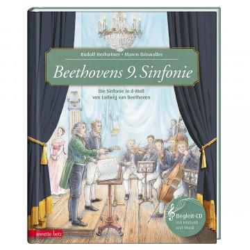 Buch und CD »Beethovens 9. Sinfonie«
