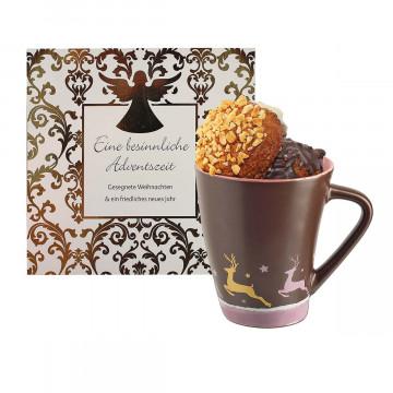 Geschenkset »Tasse mit Lebkuchen«
