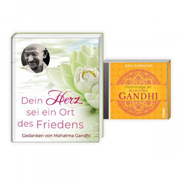 2er-Set »Hommage an Mahatma Gandhi«