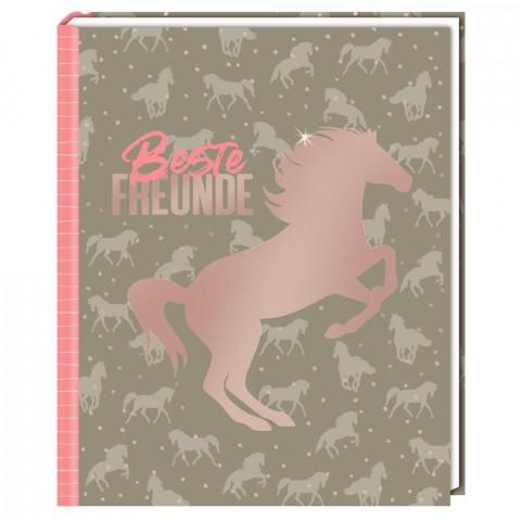 Freundebuch - I LOVE HORSES - Beste Freunde