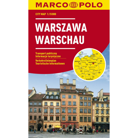 MARCO POLO Cityplan Warschau 1 : 15.000