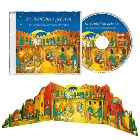 Weihnachtskarte Betlehem mit CD