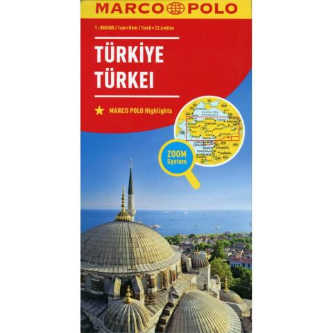 MARCO POLO Länderkarte Türkei 1:800 000