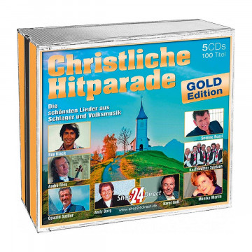 5 CD »Christliche Hitparade Gold Edition«