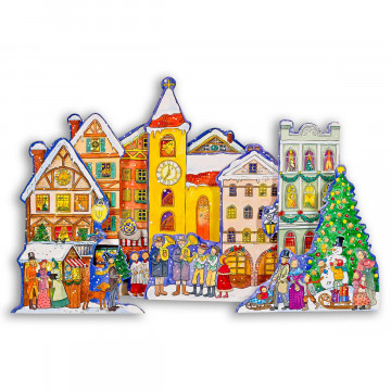 3D-Adventskalender »Christkindlmarkt«