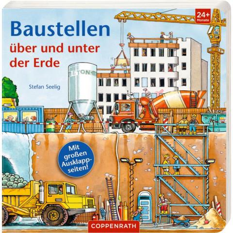 Baustellen über und unter der Erde