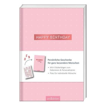 Buchgeschenk »Happy Birthday«