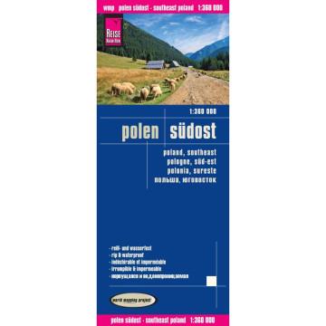 Reise Know-How Landkarte Polen, Südost 1 : 360.000