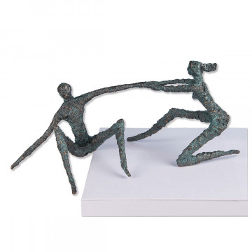 Bronzeskulptur Geistesgegenwart (1 Stück)