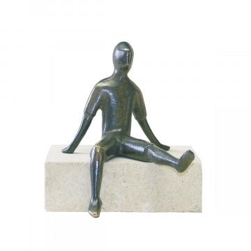 Figur, sitzend (1 Stück)