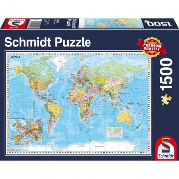 Die Welt, 1.500 Teile Puzzle