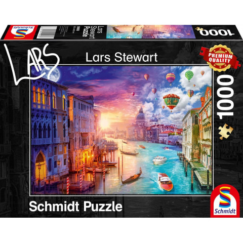 Venedig, Night and Day Puzzle 1.000 Teile