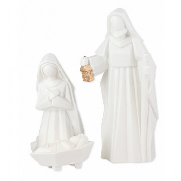 Porzellan-Figuren - Heilige Familie (1 Stück)